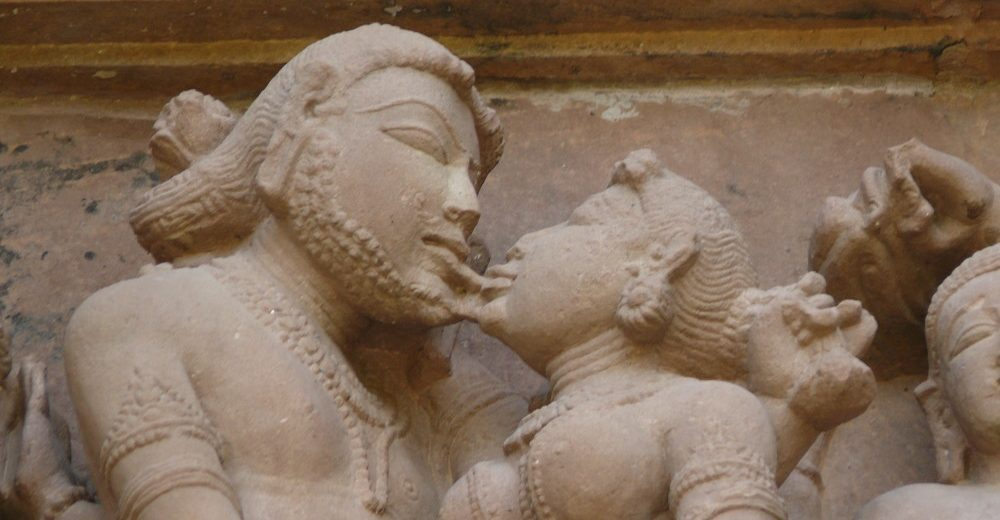 THE HISTORY OF KISSING
